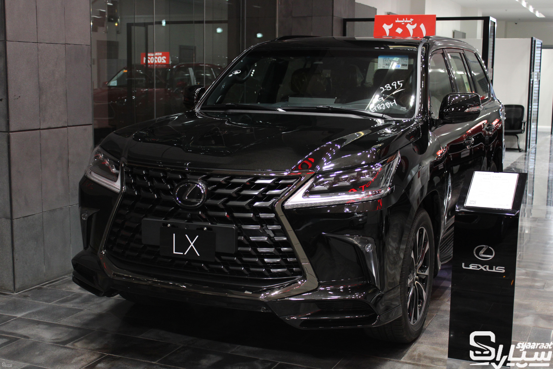 متوفر لكزس BE LX570 سعودي 2021